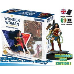 WIZKIDS DC COMICS HEROCLIX WONDER WOMAN 80TH ANNIVERSARY STARTER SET