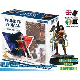 DC COMICS HEROCLIX WONDER WOMAN 80TH ANNIVERSARY STARTER SET WIZKIDS