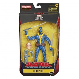 MARVEL LEGENDS SERIES DEADPOOL SET STRONG GUY - DEADPOOL BLUE ACTION FIGURE HASBRO