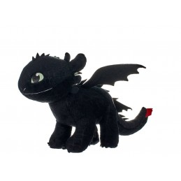 JOY TOY DRAGON TRAINER 3 TOOTHLESS GLOW IN THE DARK PLUSH PELUCHE 32 CM FIGURE