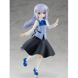 IS THE ORDER A RABBIT? CHINO POP UP PARADE STATUA FIGURE GOOD SMILE COMPANY