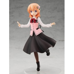 IS THE ORDER A RABBIT? COCOA POP UP PARADE STATUA FIGURE GOOD SMILE COMPANY