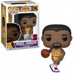 FUNKO POP! NBA LOS ANGELES LAKERS MAGIC JOHNSON BOBBLE HEAD KNOCKER FIGURE FUNKO