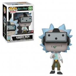FUNKO POP! RICK AND MORTY - GAMER RICK BOBBLE HEAD KNOCKER FIGURE FUNKO