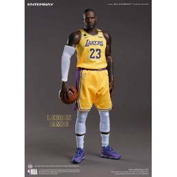 NBA COLLECTION REAL MASTERPIECE LEBRON JAMES 30CM ACTION FIGURE ENTERBAY
