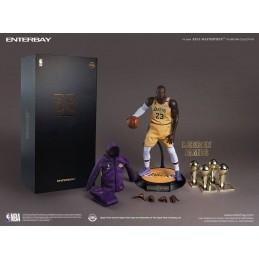 NBA COLLECTION REAL MASTERPIECE LEBRON JAMES 30CM ACTION FIGURE ENTERBAY