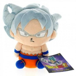 BANPRESTO DRAGON BALL SUPER SAIYAN SON GOKU ULTRA INSTINCT 15CM PLUSH PELUCHES FIGURE