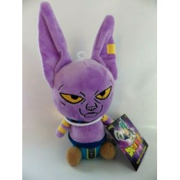 BANPRESTO DRAGON BALL SUPER BILLS BEERUS 15CM PLUSH PELUCHES FIGURE