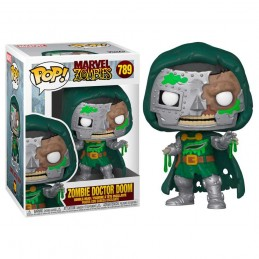 FUNKO POP! MARVEL ZOMBIE DOCTOR DOOM BOBBLE HEAD FIGURE FUNKO