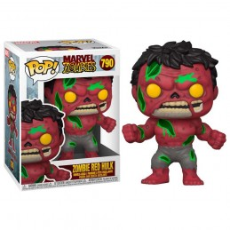 FUNKO POP! MARVEL ZOMBIE RED HULK BOBBLE HEAD FIGURE FUNKO