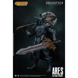 INJUSTICE: GODS AMONG US ARES 1/12 ACTION FIGURE STORM COLLECTIBLES