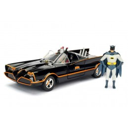 CLASSIC TV SERIES BATMOBILE AND BATMAN 1966 MODEL KIT FIGURE JADA TOYS