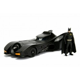 BATMOBILE AND BATMAN 1989 MODEL KIT FIGURE JADA TOYS