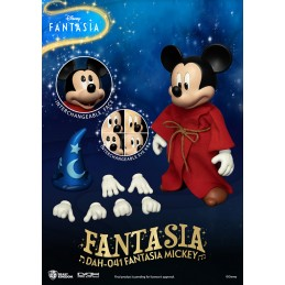 BEAST KINGDOM FANTASIA MICKEY MOUSE DAH-041 CLOTH ACTION FIGURE