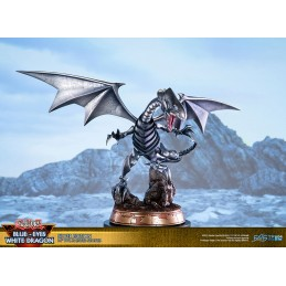 FIRST4FIGURES YU-GI-OH! BLUE EYES WHITE DRAGON SILVER ED STATUE 35CM FIGURE