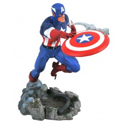 DIAMOND SELECT MARVEL GALLERY VERSUS CAPTAIN AMERICA STATUE FIGURE