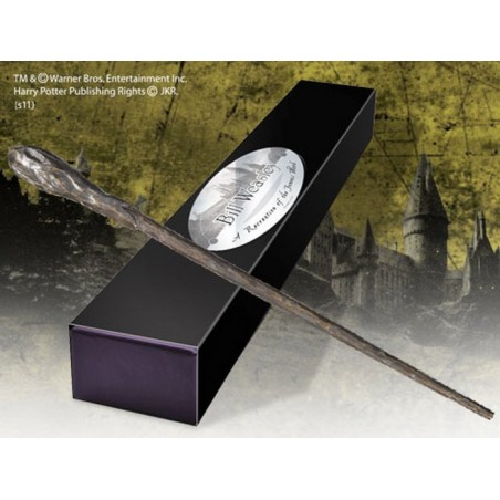 HARRY POTTER WAND BILL WEASLEY REPLICA BACCHETTA