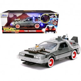 BACK TO THE FUTURE PART III DELOREAN DIE CAST 1/24 MODEL JADA TOYS