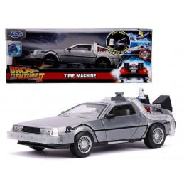 BACK TO THE FUTURE PART II DELOREAN DIE CAST 1/24 MODEL JADA TOYS