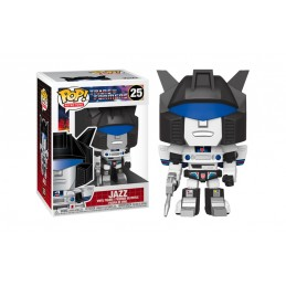 FUNKO POP! TRANSFORMERS JAZZ BOBBLE HEAD KNOCKER FIGURE FUNKO