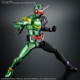 BANDAI FIGURE RISE KAMEN RIDER DOUBLE CYCLONEJOKER MODEL KIT ACTION FIGURE