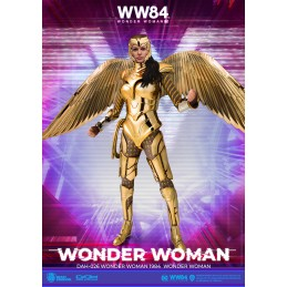 BEAST KINGDOM WONDER WOMAN 1984 GOLDEN ARMOR DAH-026 ACTION FIGURE