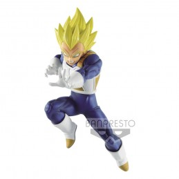 DRAGON BALL SUPER CHOSENSHIRETSUDEN SUPER SAIYAN VEGETA STATUA FIGURE BANPRESTO