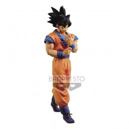 DRAGON BALL Z SON GOKU SOLID EDGE WORKS STATUA FIGURE BANPRESTO