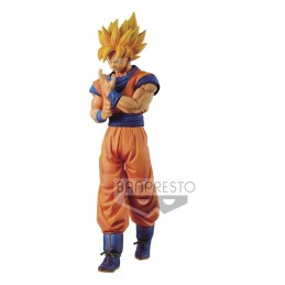 DRAGON BALL Z SUPER SAIYAN SON GOKU SOLID EDGE WORKS STATUA FIGURE BANPRESTO