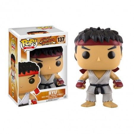 FUNKO POP! STREET FIGHTER - RYU BOBBLE HEAD KNOCKER FIGURE