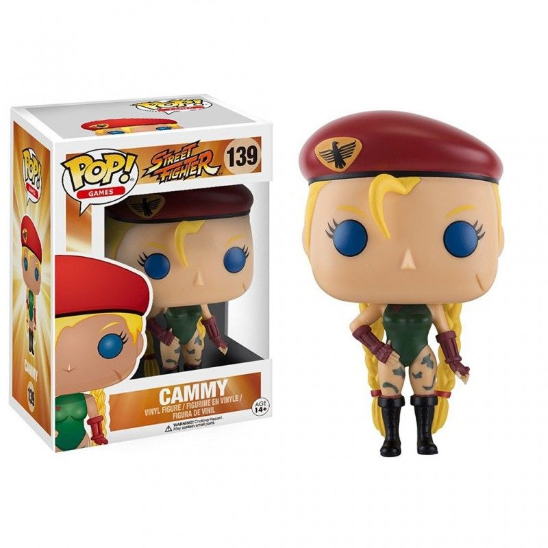 FUNKO FUNKO POP! STREET FIGHTER - CAMMY BOBBLE HEAD KNOCKER FIGURE