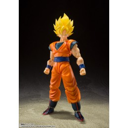 BANDAI DRAGON BALL Z SUPER SAIYAN FULL POWER SON GOKU S.H. FIGUARTS ACTION FIGURE