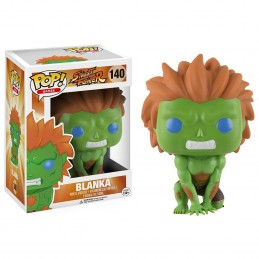 FUNKO POP! STREET FIGHTER - BLANKA BOBBLE HEAD KNOCKER FIGURE