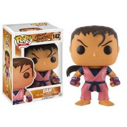 FUNKO POP! STREET FIGHTER - DAN BOBBLE HEAD KNOCKER FIGURE