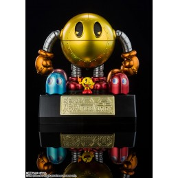 PAC-MAN CHOGOKIN DIECAST MODEL ACTION FIGURE BANDAI