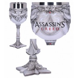 NEMESIS NOW ASSASSIN'S CREED LOGO RESIN GOBLET