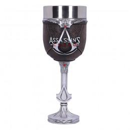 NEMESIS NOW ASSASSIN'S CREED BROTHERHOOD LOGO RESIN GOBLET