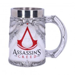 NEMESIS NOW ASSASSIN'S CREED LOGO RESIN TANKARD