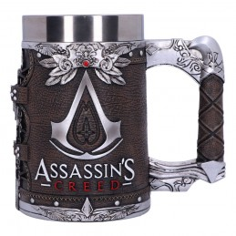 NEMESIS NOW ASSASSIN'S CREED BROTHERHOOD LOGO RESIN TANKARD