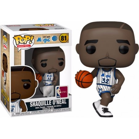 FUNKO POP! NBA SHAQUILLE O'NEAL BOBBLE HEAD KNOCKER FIGURE