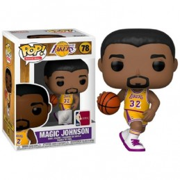 FUNKO POP! NBA MAGIC JOHNSON BOBBLE HEAD KNOCKER FIGURE FUNKO