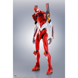 THE ROBOT SPIRITS EVANGELION EVA PRODUCTION MODEL 02 + TYPE S PARTS ACTION FIGURE BANDAI
