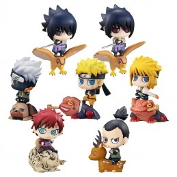 NARUTO PETIT CHARA NEW KUCHIYOSE GIFTBOX MINI FIGURE MEGAHOUSE