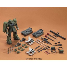 BANDAI HIGH GRADE HGUC GUNDAM ZAKU GROUND WAR SET 1/144 MODEL KIT FIGURE