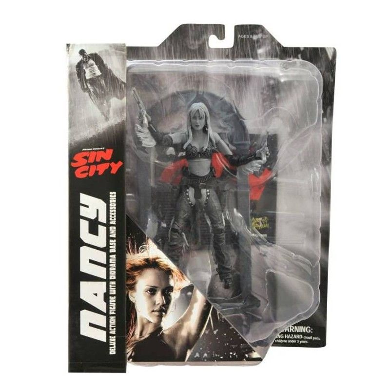 SIN CITY NANCY JESSICA ALBA DIAMONDS SELECT DELUXE ACTION FIGURE DIAMOND SELECT