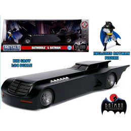 BATMAN THE ANIMATED SERIES BATMOBILE DIE CAST 1/24 MODEL JADA TOYS