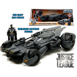 BATMAN JUSTICE LEAGUE BATMOBILE DIE CAST 1/24 MODEL JADA TOYS