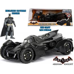 JADA TOYS BATMAN ARKHAM KNIGHT BATMOBILE DIE CAST 1/24 MODEL