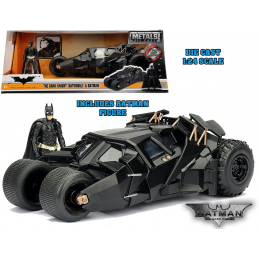BATMAN THE DARK KNIGHT TRILOGY BATMOBILE DIE CAST 1/24 MODEL JADA TOYS