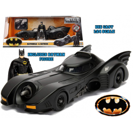 BATMAN THE MOVIE 1989 BATMOBILE DIE CAST 1/24 MODEL JADA TOYS
